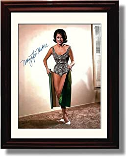 Framed Mary Tyler Moore Autograph Replica Print - Gift Wrapped