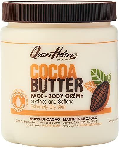 Queen Helene Natural Cocoa Crème, Cocoa Butter, 15 Ounce