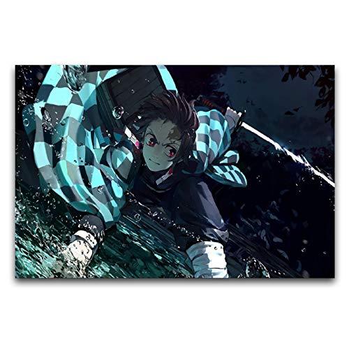 WPQL - Poster decorativo da parete con anime giapponesi (14) può essere dato toboyCome regalo, può essere utilizzato per la decorazionecamera da lettoWall, stampa poster 45 x 50 cm