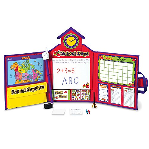 Learning Resources Pretend & Play School Set, 149 Pieces, Ages 3+ [Standard Packaging] JungleDealsBlog.com