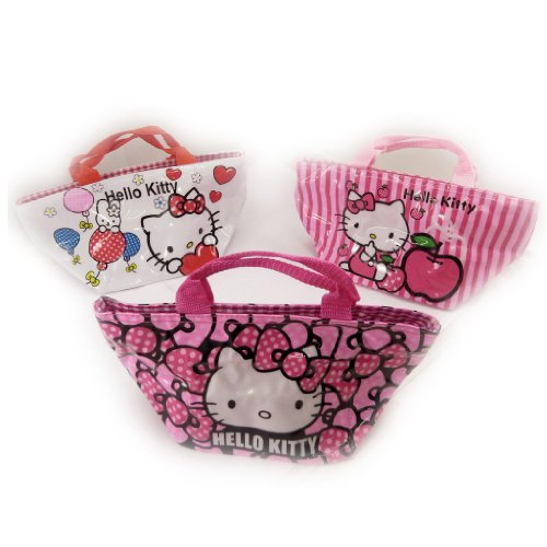 Hello Kitty [K8308-3 sacs shopping rose blanc
