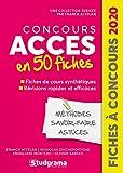 Concours ACCES en 50 fiches