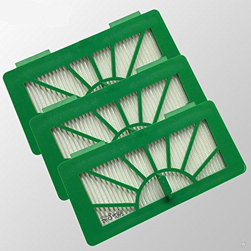 Lot de 3 Filtre HEPA Allergie Pour modèles Neato XV11 xv12 XV15 xv21 XV25 XV Signature et Vorwerk Kobold VR100