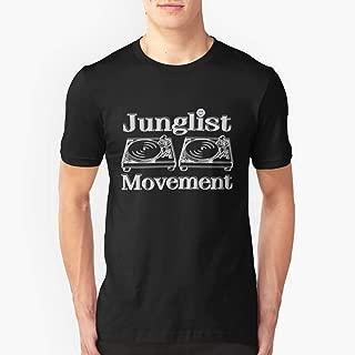Junglist Movement Slim Fit TShirtT shirt Hoodie for Men, Women Unisex Full Size.