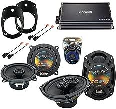 Compatible with Dodge Ram Truck 2500/3500 03-05 Speaker Upgrade Harmony Speakers & CXA300.4 Amp (Renewed)