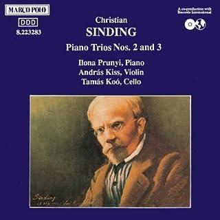 SINDING: Piano Trios Nos. 2 and 3 by Tamas Koo