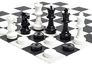 giant plastic chess