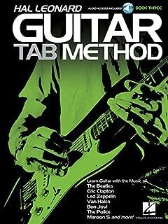Hal Leonard Guitar Tab Method Book/Audio 3