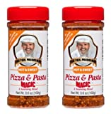 Chef Paul Prudhommes Magic Seasoning Blend Pizza & Pasta 3.6 oz (Pack of 2)