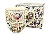 Duo Jumbotasse Becher XXL Spring 2 folkloristische Deko 900 ml Porzellan Trinkbecher Smoothie Becher Geschenk Büro Tasse für Kaffee Teetasse Cappuccino Kaffeebecher Jumbo-Tasse Riesentasse XXXL