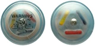 Designer Tamper Resistant Clear Ink Clothing Security Tag (8.2MHz, 55mm, Clear) Pack of 1000