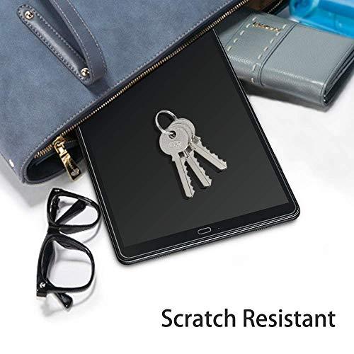 [2 Stück] OMOTON Panzerglasfolie Schutzfolie für Samsung Galaxy Tab A 10.5 SM-T590/T595,9H Härte, Anti-Kratzer, Anti-Öl, Anti-Bläschen