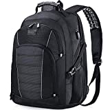Laptop Backpack, Extra Large 17 Inch Business Travel Backpack with USB Charging Port Earphone Hole, Durable...