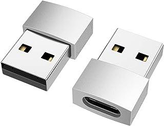 nonda USB C to USB Adapter (2 Pack), USB-C Female to USB Male, USB Type C Female to USB OTG Adapter for MacBook Pro 2015/2...