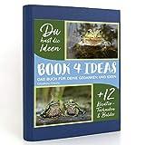 BOOK 4 IDEAS modern | Glückliche Frösche, Eintragbuch mit Bildern