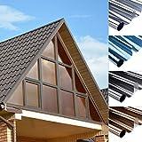 Pellicola solare per finestra, autoadesiva, protezione dal calore/privacy, 75 x 300 cm, pellicola a specchio, pellicola autoadesiva, pellicola di protezione dai raggi UV, isolamento termico, marrone