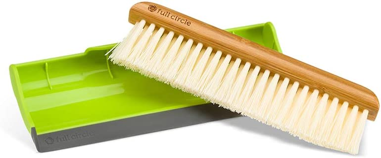 Full Max 48% OFF Circle Cheap mail order specialty store Crumb Runner Counter Green Squeegee Sweep and