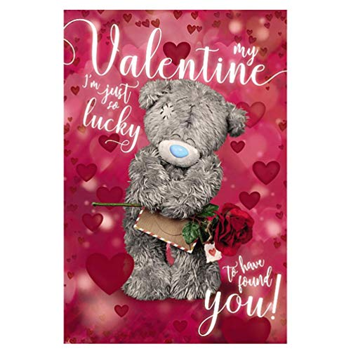 Me To You - My Valentine - 3D Holographic Valentine's Card