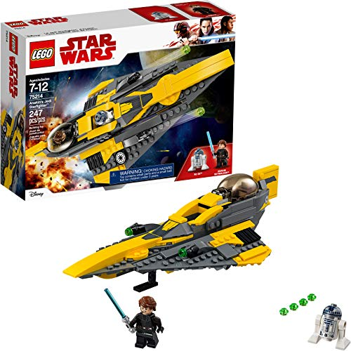 LEGO Star Wars: The Clone Wars Anakin's Jedi Starfighter 75214 Building Kit (247 Pieces)