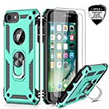iPhone 6s /6 Case, iPhone 7 Case, iPhone 8 Case, LeYi Military Grade Armor Full-Body Dual Layer Protective Phone Cover Case with 360 Degree Rotating Holder Kickstand for Apple iPhone 6/ 6s/ 7/8 Mint