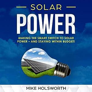 Solar Power audiobook cover art