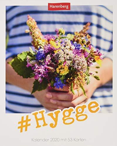 #Hygge Postkartenkalender 2020. Wochenkalendarium. Blockkalender. Format 12 x 15 cm