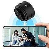 COEMA Mini cámara espía, grabadora de Video 1080P, Mini cámaras IP inalámbricas, cámara Oculta, cámaras de Seguridad remotas WiFi para el hogar, detección Inteligente de Movimiento