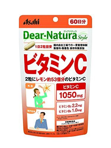 アサヒグループ食品 ディアナチュラ スタイル ビタミンC 60日 120粒 Dear-Natura [8482]