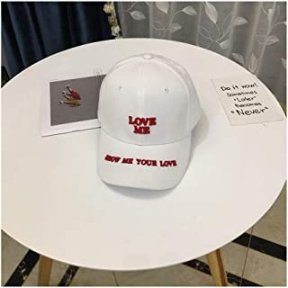 Hats Outdoor Leisure Travel Sunshade Hat Spring and Summer Hat Baseball Cap Fashion (Color : White, Size : F)