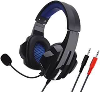 Headphones,pc headphones - Gaming Headset Stereo Surround Headphone 3.5mm Wired Mic For PS4 Laptop For Xbox one Gamer Headphone SY450MV PC non-luminous headphones with packaging