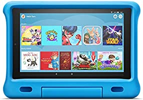 "A full-featured 10"" HD tablet (not a toy), a purple kid-proof case with kick-stand, parental controls, 2-year worry-free..."