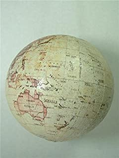 Red Peace On Earth Globe Academic Map Planet Earth Geography Christmas Ornament
