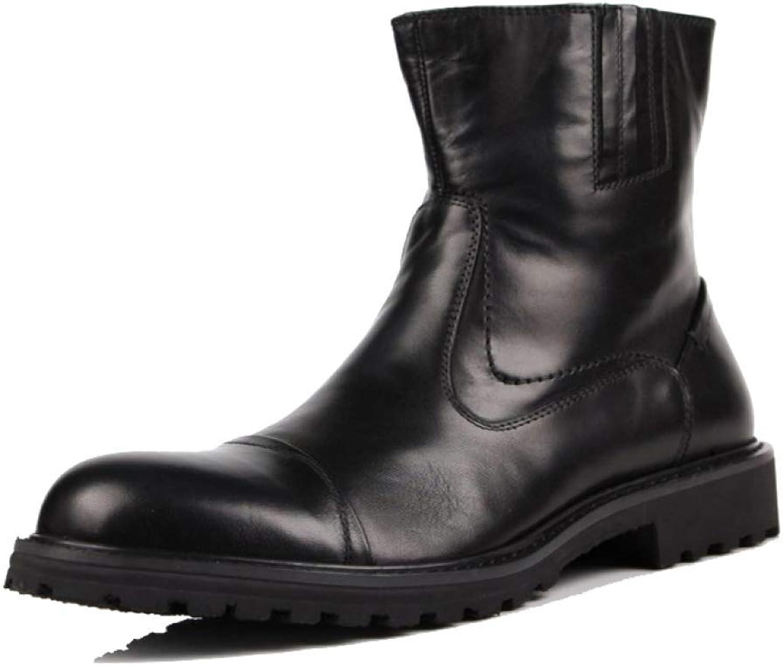 ZPEDY MEN, läder skor, Martin stövlar, European Version, Trend, Comfort, High Elasticity