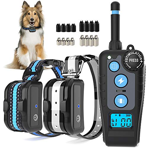 Kastty Dog Training Collar 2 Dogs, Bark Collar...