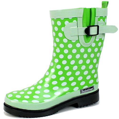 Bockstiegel Damen Stiefel Dorin-K grün 622621