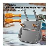 L9WEI Rocker Stick mando a distancia para DJI Mavic Mini, joystick para pulgar, botones balancín, accesorios para drone (dorado, 2 unidades)