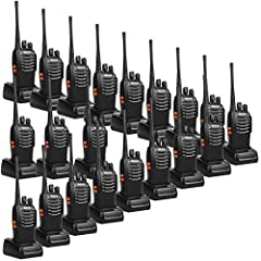 Extremely simple operation sturdy two way radio without needing any training; come to work with each other out of box Long range walkie talkies and wide range of coverage in city buildings and outdoor events; necessary accessories includes durable be...