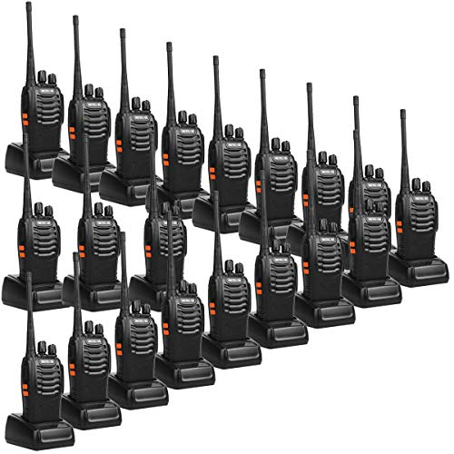 Purchase Retevis H-777 2 Way Radios UHF Long Range Two-Way Radios 16CH Emergency Portable Radios Wal...