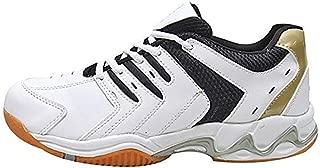 Port Spark White Badminton Shoes for Men