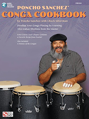Poncho Sanchez' Congo Cookbook Congos Book