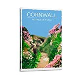 Mother Ivey's Bay Cornwall Poster Prints Retro Reise