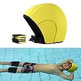 Casco flotante para piscina de 3 piezas/juego, anillo de brazo, manga...
