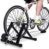 LALEO Bicicleta Soporte De Ejercicio, Bicicleta Entrenador Stand Reducción De Ruido A Caballo De Interior Adecuado para Ruedas de 26-28 Pulgadas