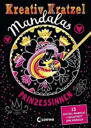 Kreativ-Kratzel Mandalas - Prinzessinnen: für Mädchen ab 5 Jahre