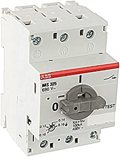 ABB ABB MS325-0.16 3ph Manual Str. 0.10-0.16a