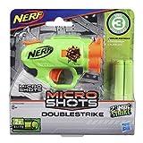 Hasbro E3000 MicroShots Zombie Strike DoubleStrike - Pistola clásica en microformato