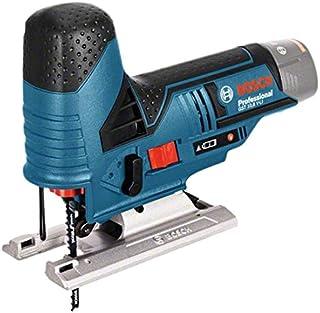 Bosch GST 12V-70 Professional - Sierra de calar a batería (sin batería, 2 hojas de sierra, Profundidad de corte en madera 70 mm, 12 V, L-BOXX)