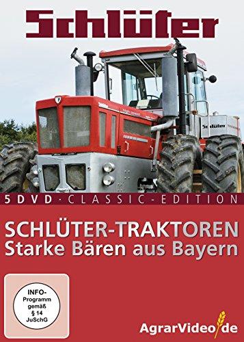 Schlüter Traktoren: Starke Bären aus Bayern - 5 DVD Classic Edition