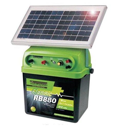 PASTOR ELÉCTRICO SOLAR | 12 V | 0,5-2,5 J | 40 KM