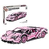 Sunbary Technik Bausteine Auto, Sportwagen Bauset, Exklusives Sammlerstück, 1294 Teile Klemmbausteine Kompatibel mit Lego Technic